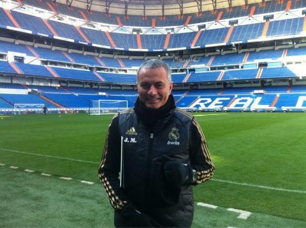 Nuevo peinado Mourinho