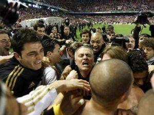 Celebración Liga Mourinho