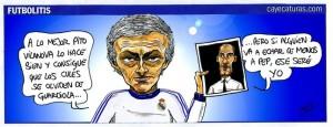 Tira Cómica de Caye en el Sport sobre Mourinho