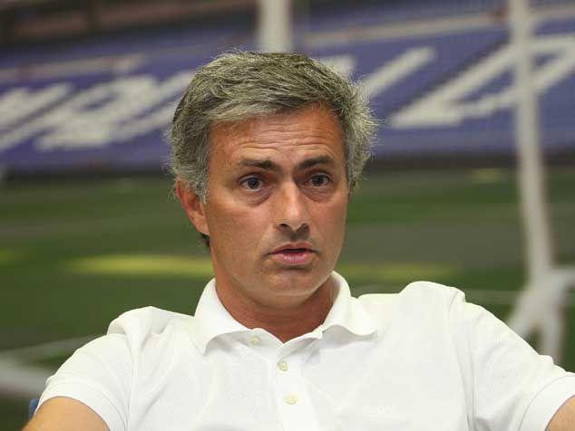Mourinho en el Santiago Bernabeu