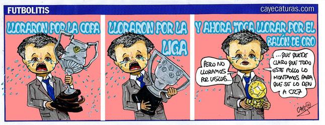 Caye-caricatura-Mourinho-BalónOro
